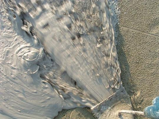 Vloerverwarming in de betonvloer