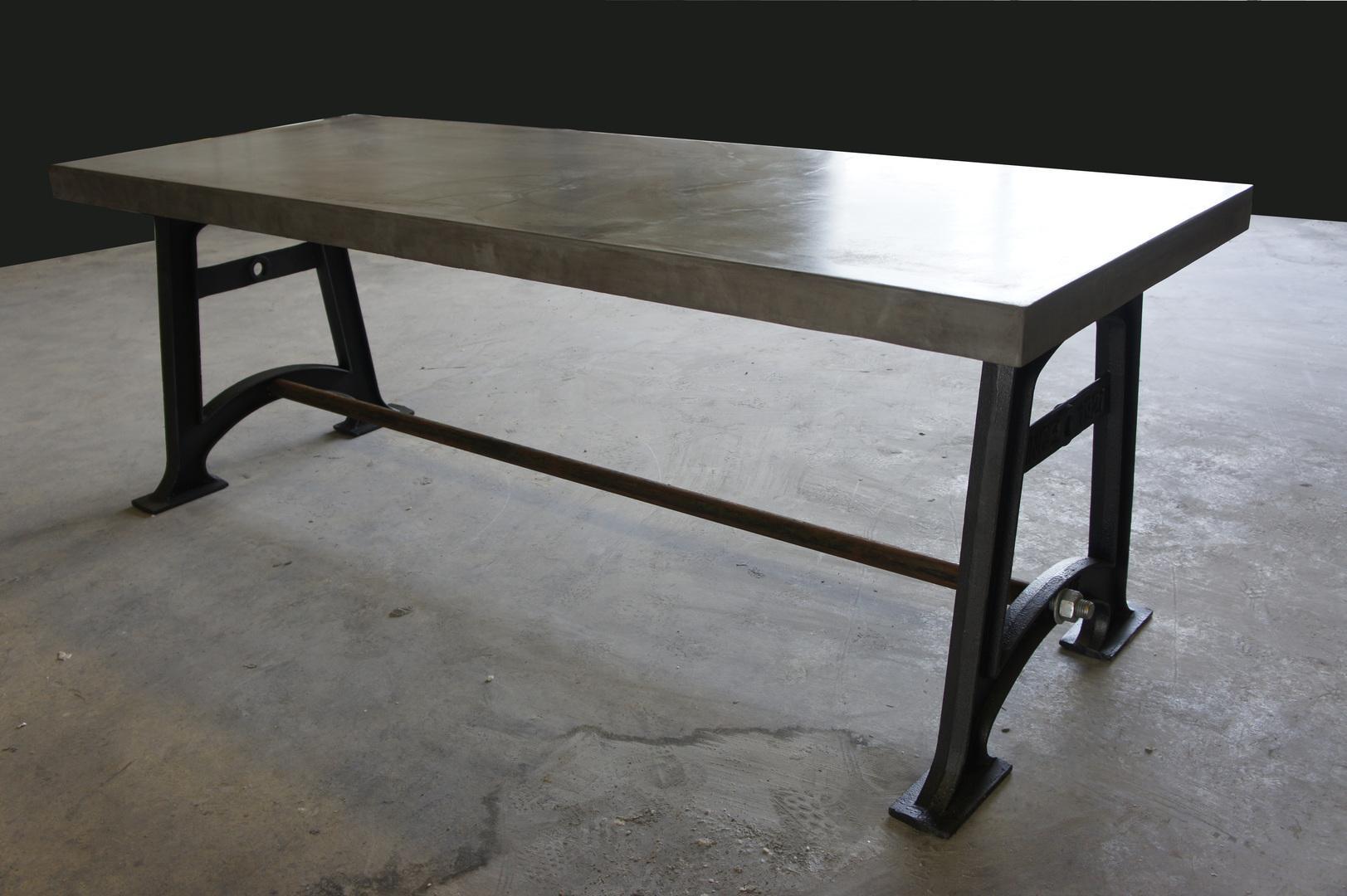 Betonnen tafelblad