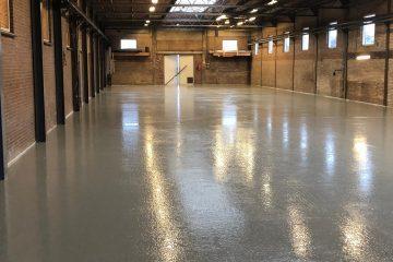 Dikte betonvloer