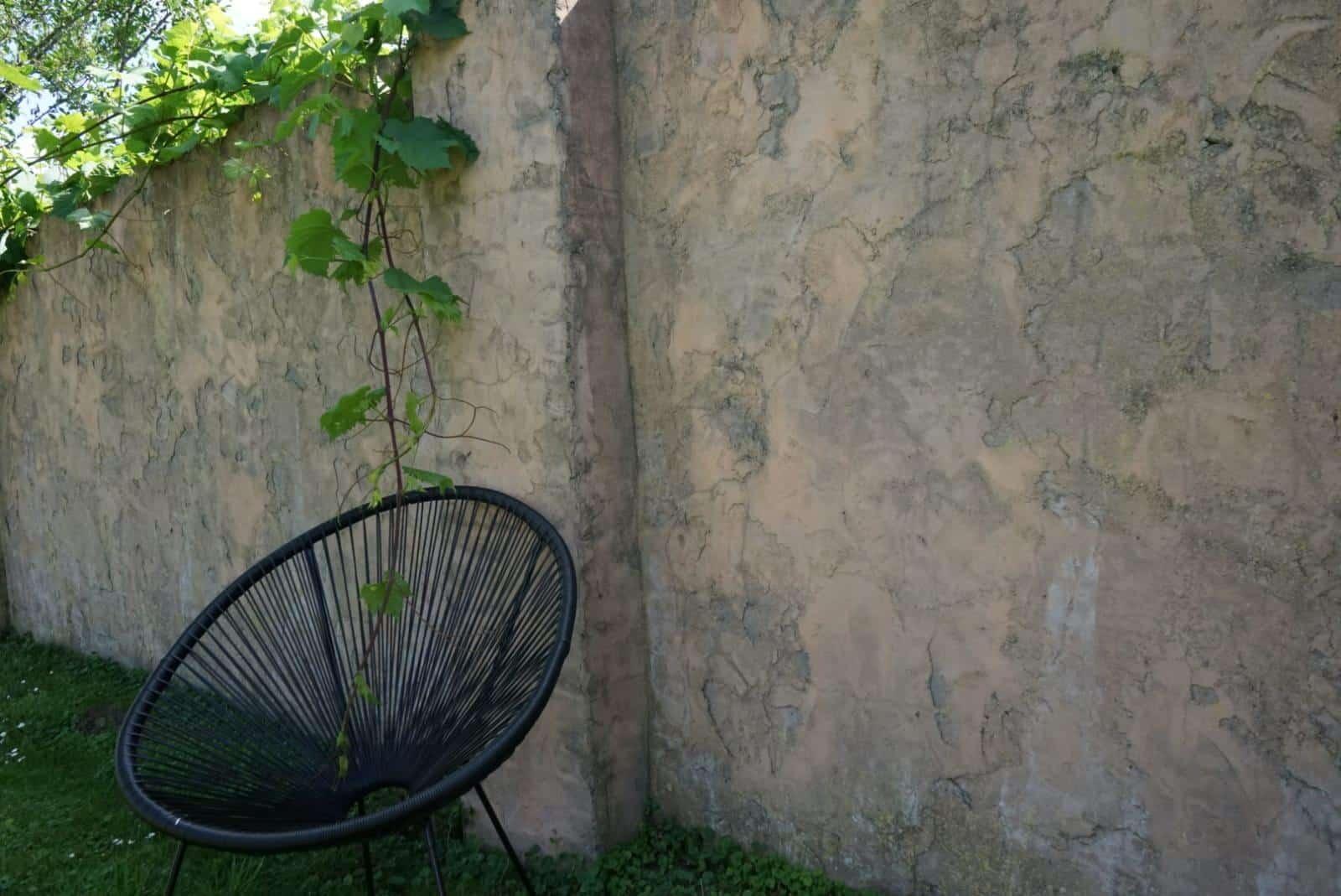 Castle wall stucwerk