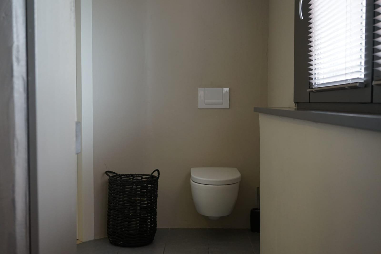 stucwerk badkamer