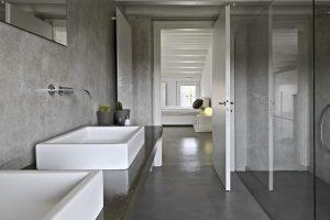 centgebonden gietvloer badkamer