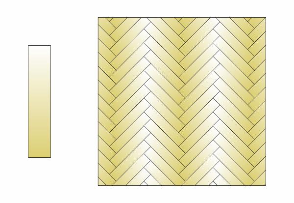 Visgraat vloerpatroon